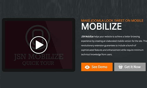jsn mobilize joomla mobile extension