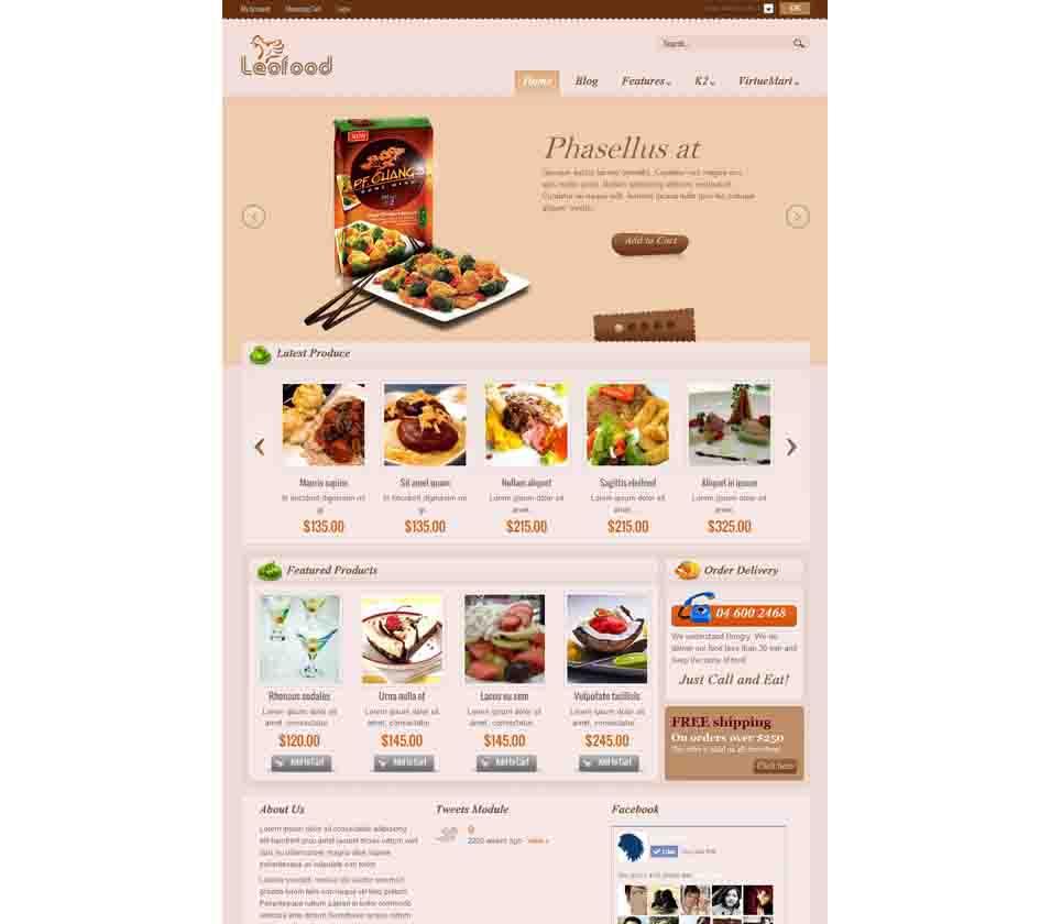 45 best cafe restaurants joomla templates themes free premium templates. Black Bedroom Furniture Sets. Home Design Ideas