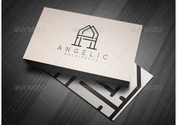 letter a angelic architect logo prvw