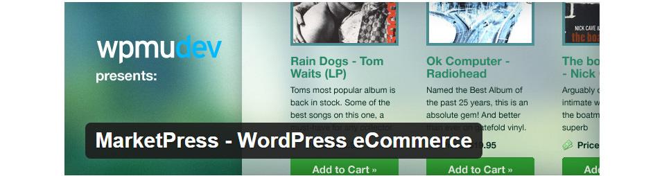 MarketPress - WordPress eCommerce