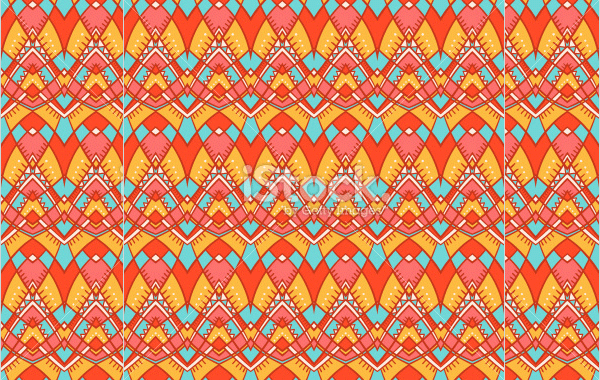 orange and yellow tribal pattern12345
