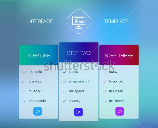 ui template design