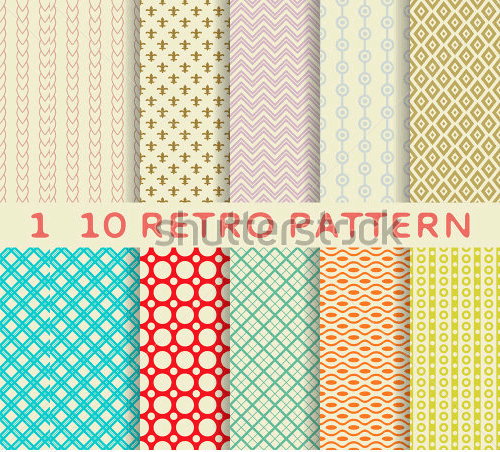 vector seamless patterns