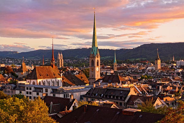 zurich switzerland roofs buildings wallpapers copy