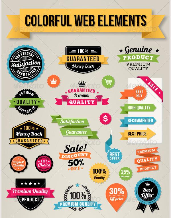 Colorful Web Elements_GRpreview