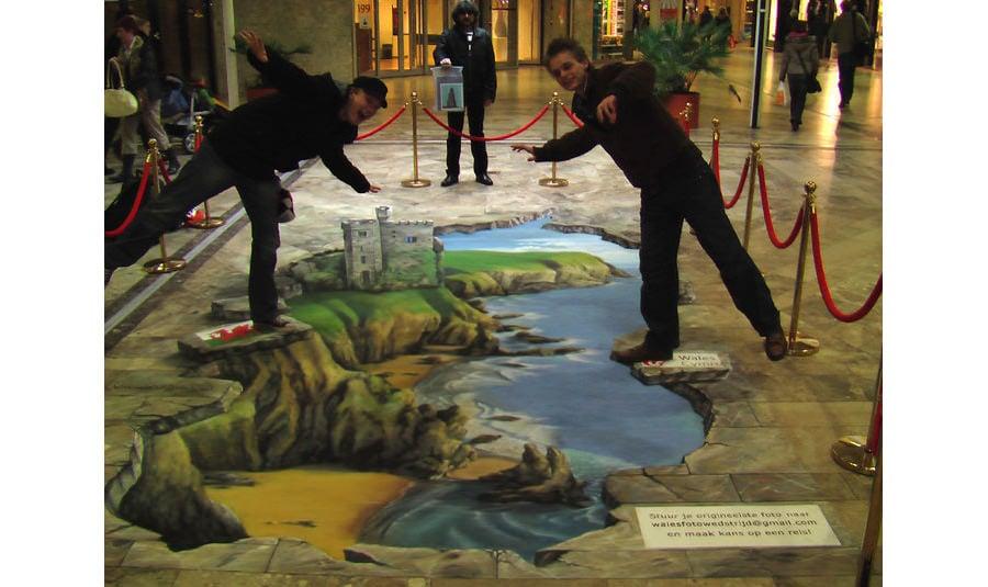 01 3d street painting visit wales copy