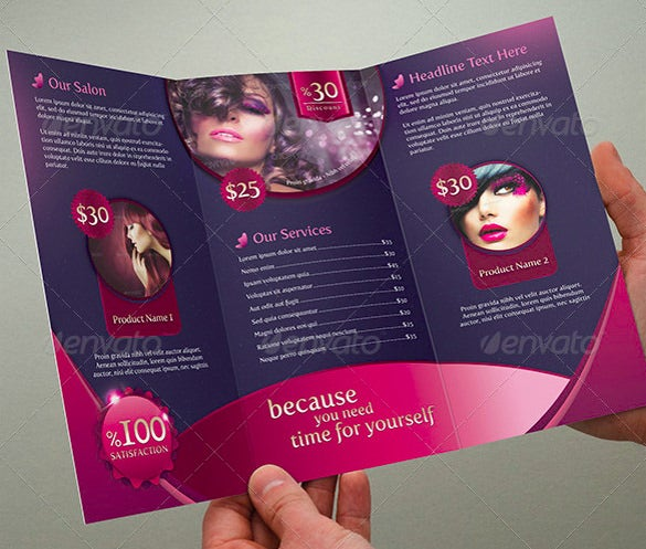 trifold beauty salon1