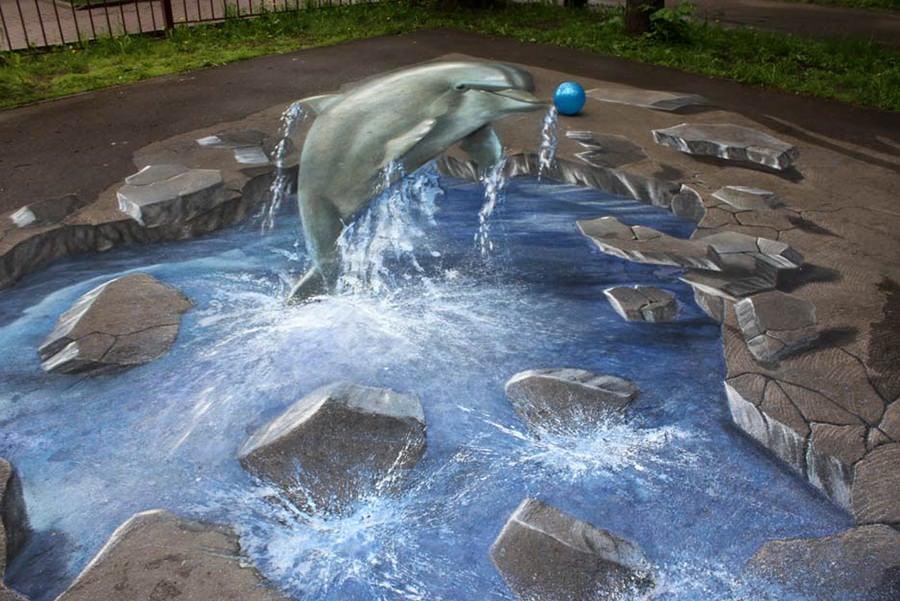 02 3d street art moscow copy