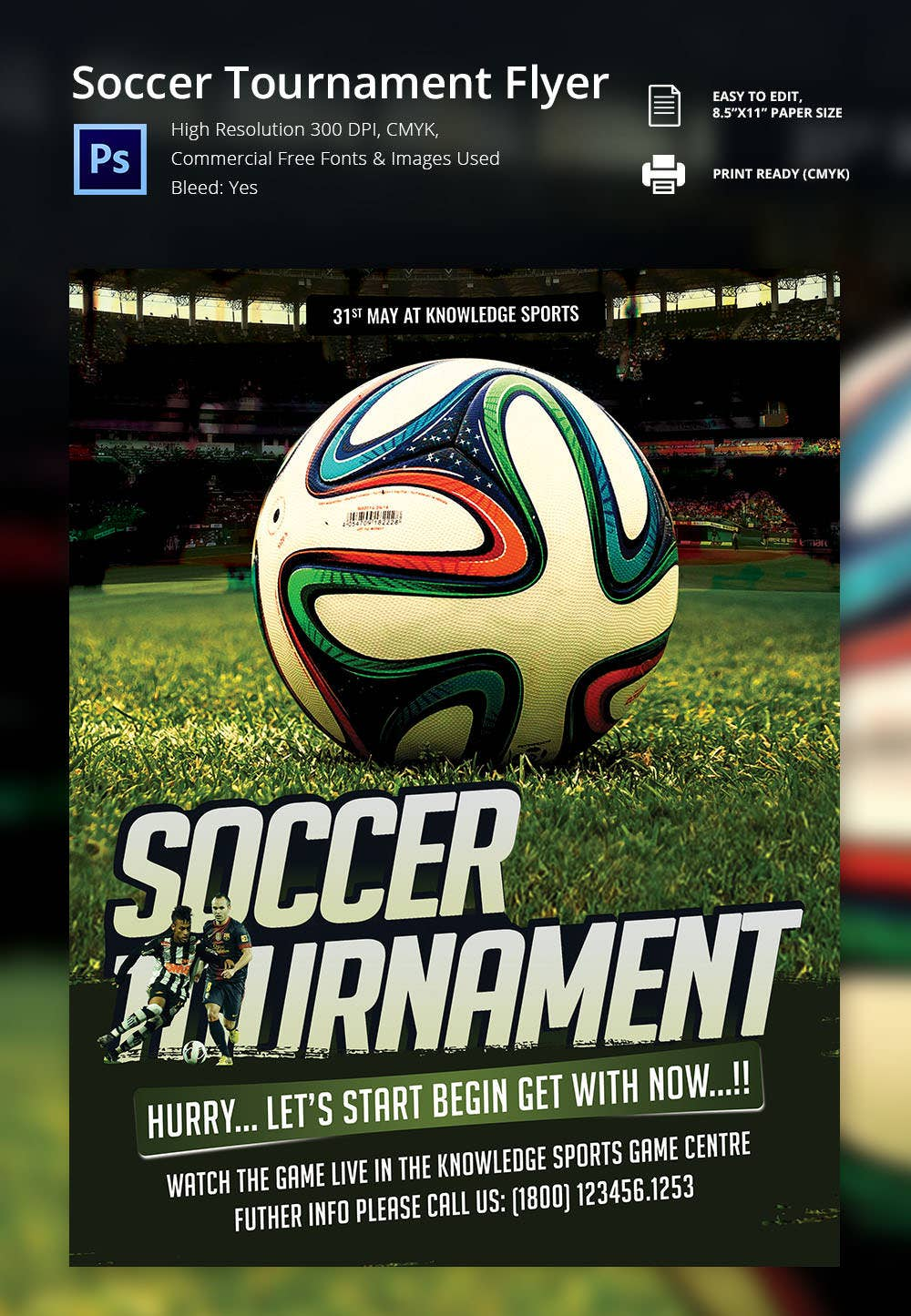 psd flyer templates psd eps ai indesign format soccer tour nt flyer template