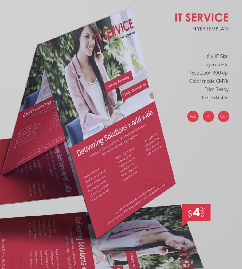 Creative IT Services Flyer