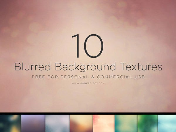 10 Large Blurred Backgrounds