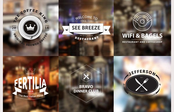 10 Restaurant Logo Templates