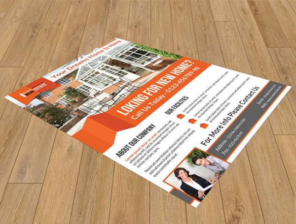 real estate flyer 50 psd format download