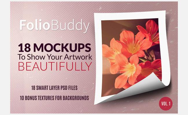 18 mockups for portfolio display