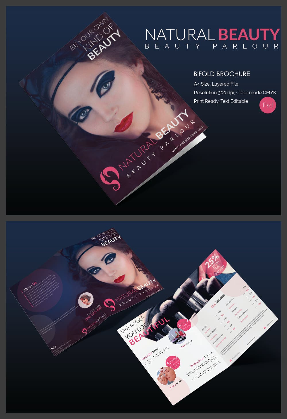 Natural Beautry parlour Template