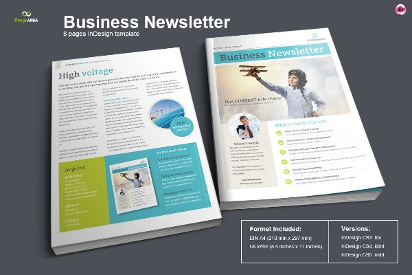 financial newsletter template