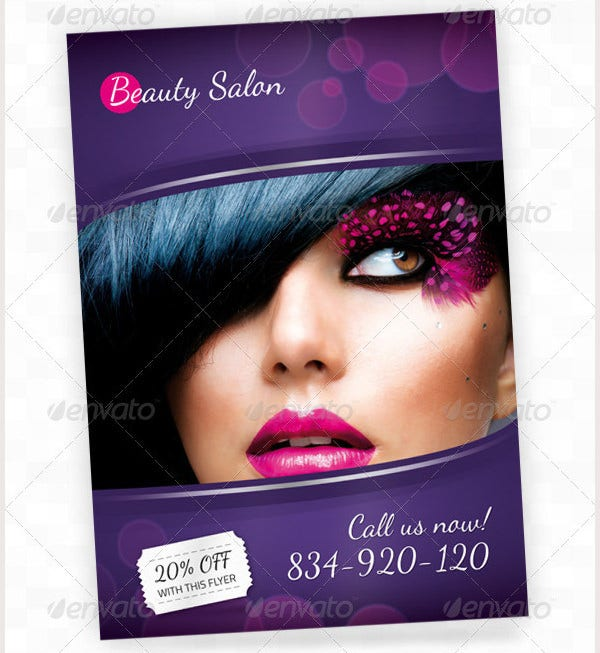 67 beauty salon flyer templates free psd eps ai for A 1 beauty salon