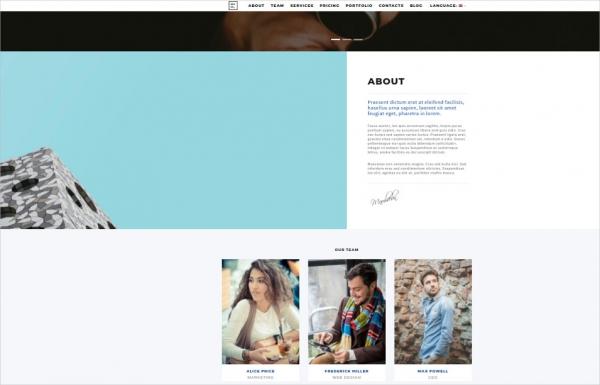 portfolio wordpress theme – defolio