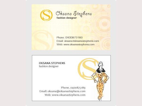 68 business cards for designers free premium templates fashion design business card colourmoves
