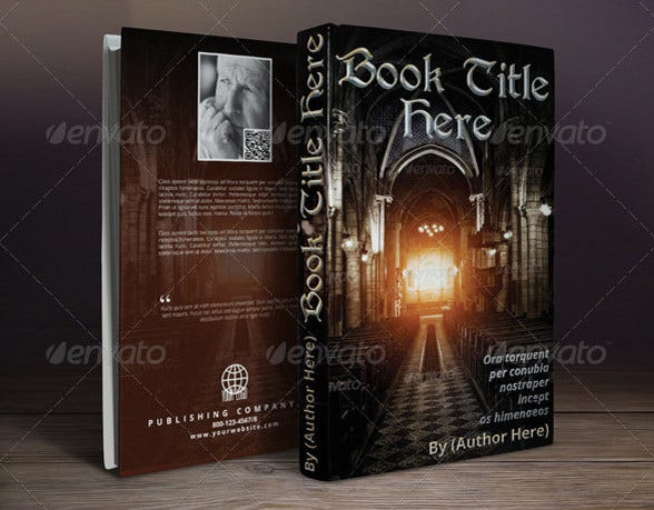 book covers template
