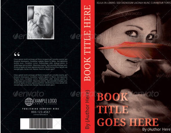 book cover template2