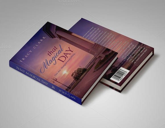 tracky book cover template