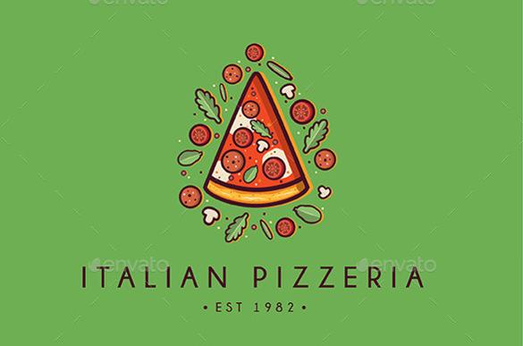 italian pizzeria logo