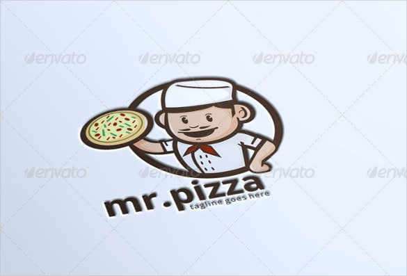 logo of pizza logo template download