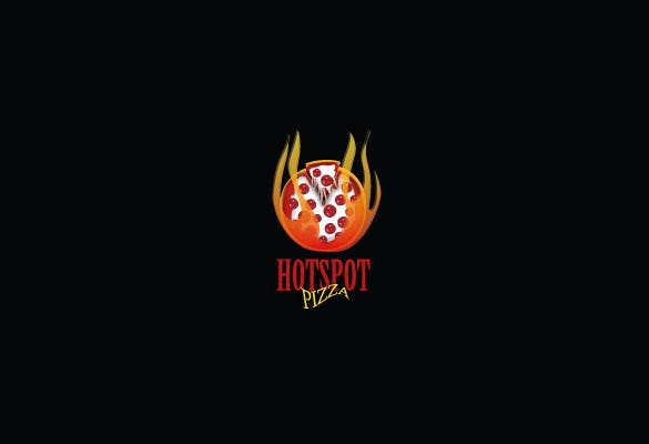hot spot pizza logo download