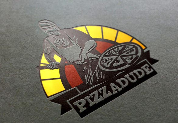 pizzadude logo template download