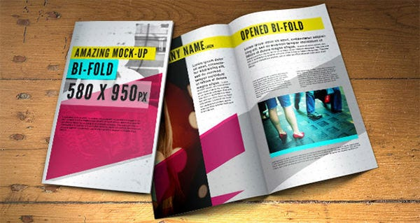 psd bifold brochure mock up template1