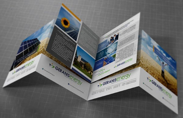 square bi fold brochure mock up1