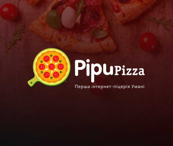pipupizza modern pizza logo download
