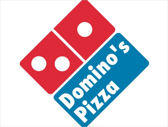 dominospizza logo template
