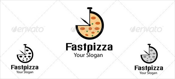 fast pizza logo template download1