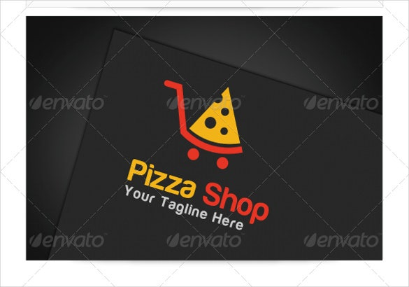 pizza shop logo template1
