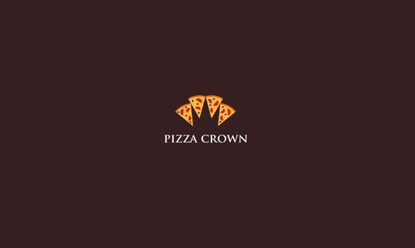 logo of pizza crown