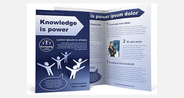 winning team brochure template1