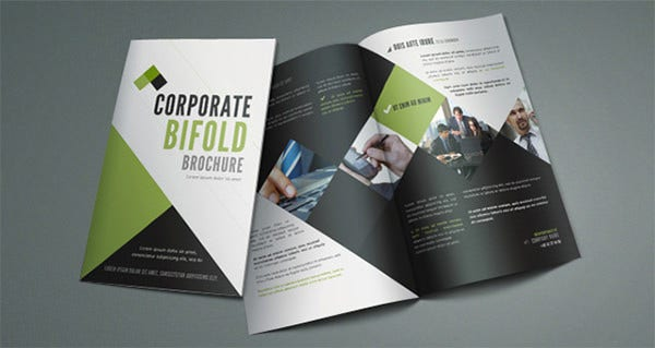 corporate bi fold brochure template1