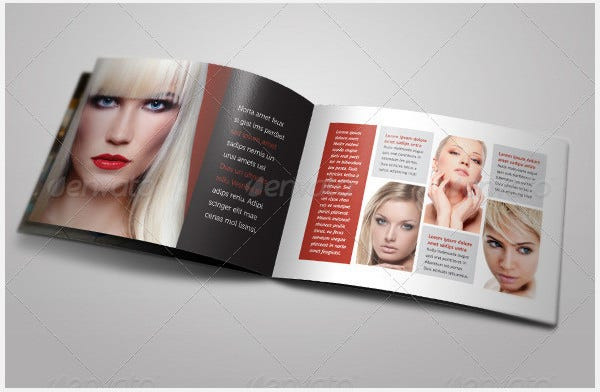 sales catalog bi fold brochure