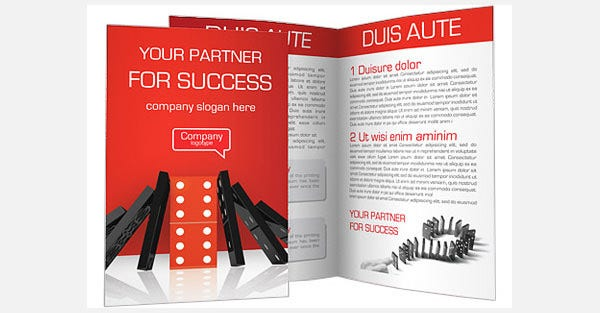 domino balance brochure template1