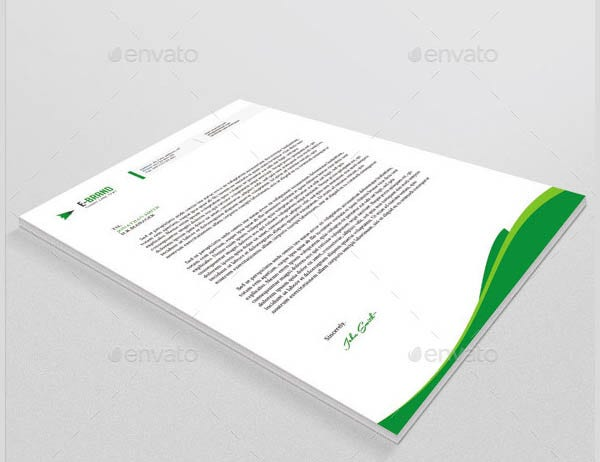 corporate letterhead template1