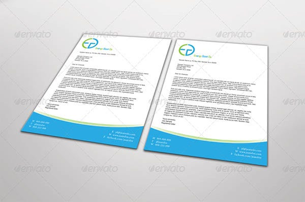 letterhead mock up set1