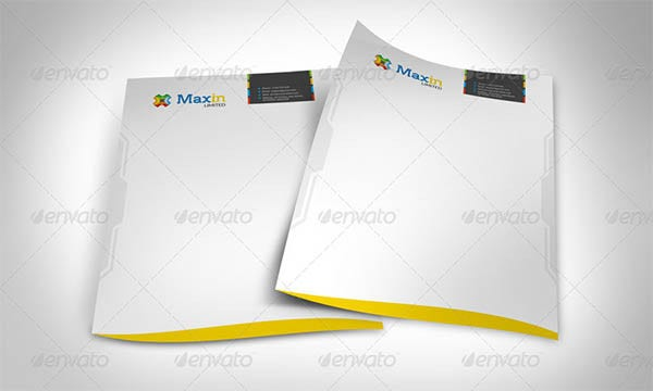 8 corporate letterhead designs