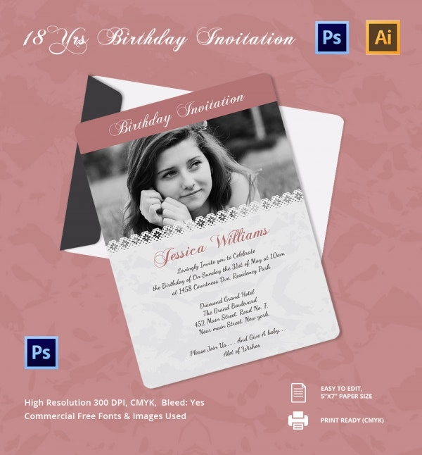 Birthday Invitation Templates Diabetesmanginfo - Birthday invitation templates to download free