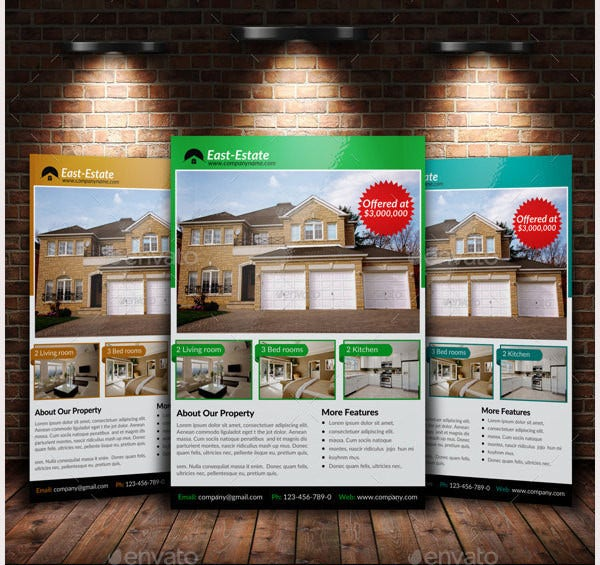 a4 real estate flyer2