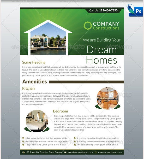dream home real estate corporate flyer1