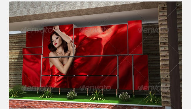 3d photo box mockups