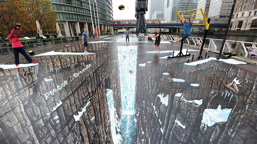 Fußboden Tattoo 3d ~ Amazing street art paintings with d effects free premium