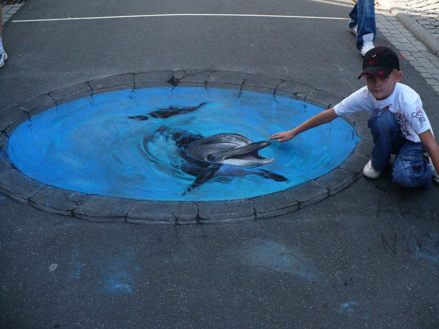 3d street art painting10